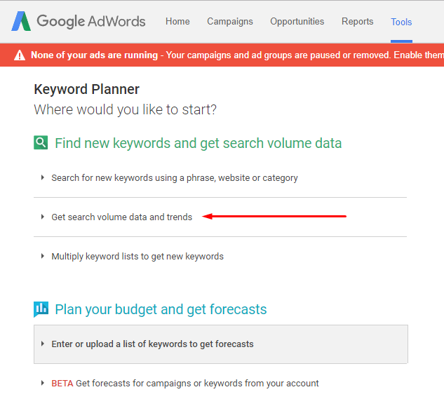 Get Started With Google Adwords Keyword Planner for Merch by Amazon Keyword Research
