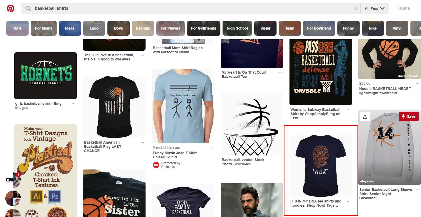 Merch by Amazon - Pinterest Product Research