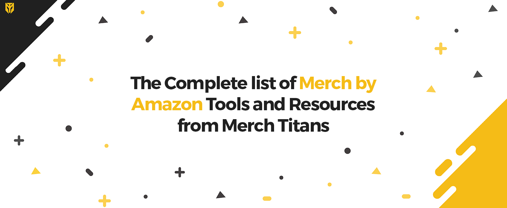 Merch by Amazon Tools and Resources