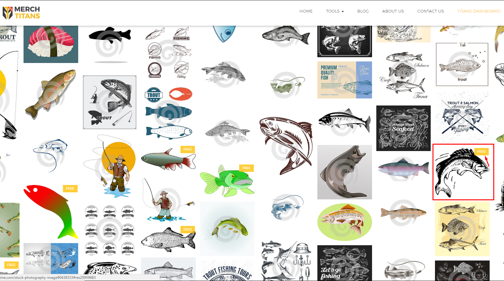 Free Vectors Search for Merch by Amazon T-Shirts Ideas - Trout Search